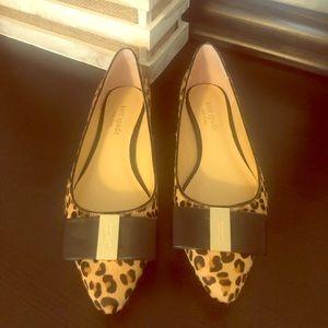 Kate spade leopard flats
